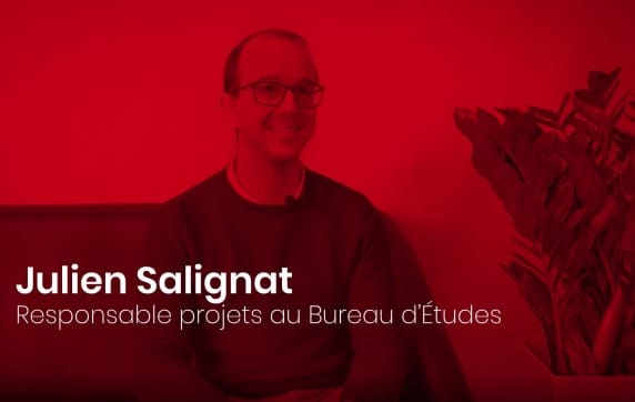 Rencontrez les collaborateurs AluK ! L'optimiste Julien, Responsable Projets au Bureau d'Etudes !